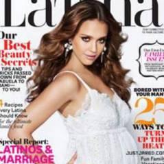 Jessica Alba : même grosse elle fait la couverture (PHOTO)