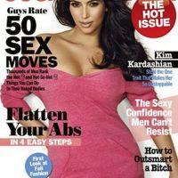 Kim Kardashian sexy ... et en forme en couv' de Cosmopolitain (PHOTO)