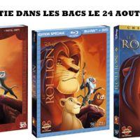 EXCLU VIDEO - Le Roi Lion en Blu-Ray 3D, Blu-Ray et DVD : sortie aujourd'hui dans les bacs