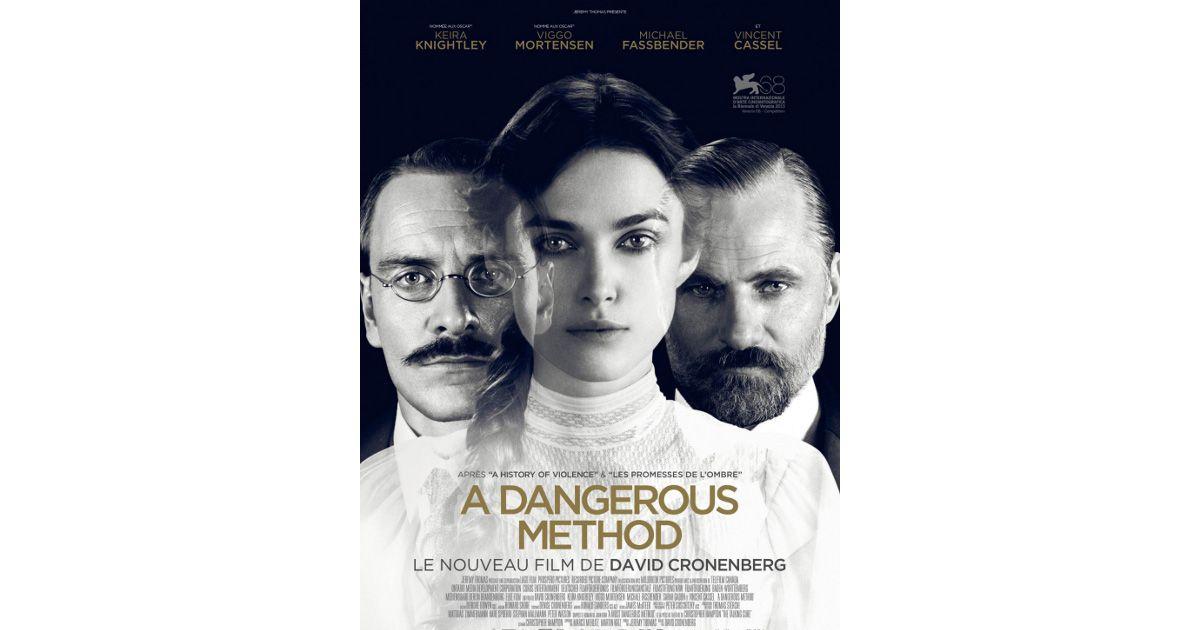 PHOTO - A Dangerous Method : L'affiche officielle du film ... A Dangerous Method Poster