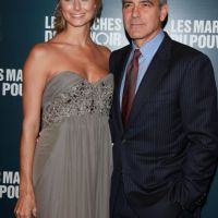 George Clooney : à Paris avec Stacy Keibler (PHOTOS)