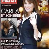 Carla Bruni : première ''photo'' de sa fille Giulia en couv' de Paris Match