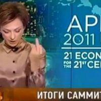Doigt d'honneur à Obama : direction la porte pour la journaliste russe Tatiana (VIDEO)