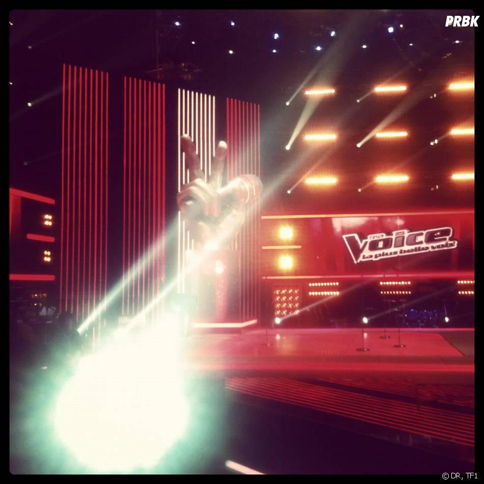 The voice la plus belle voix : le plateau