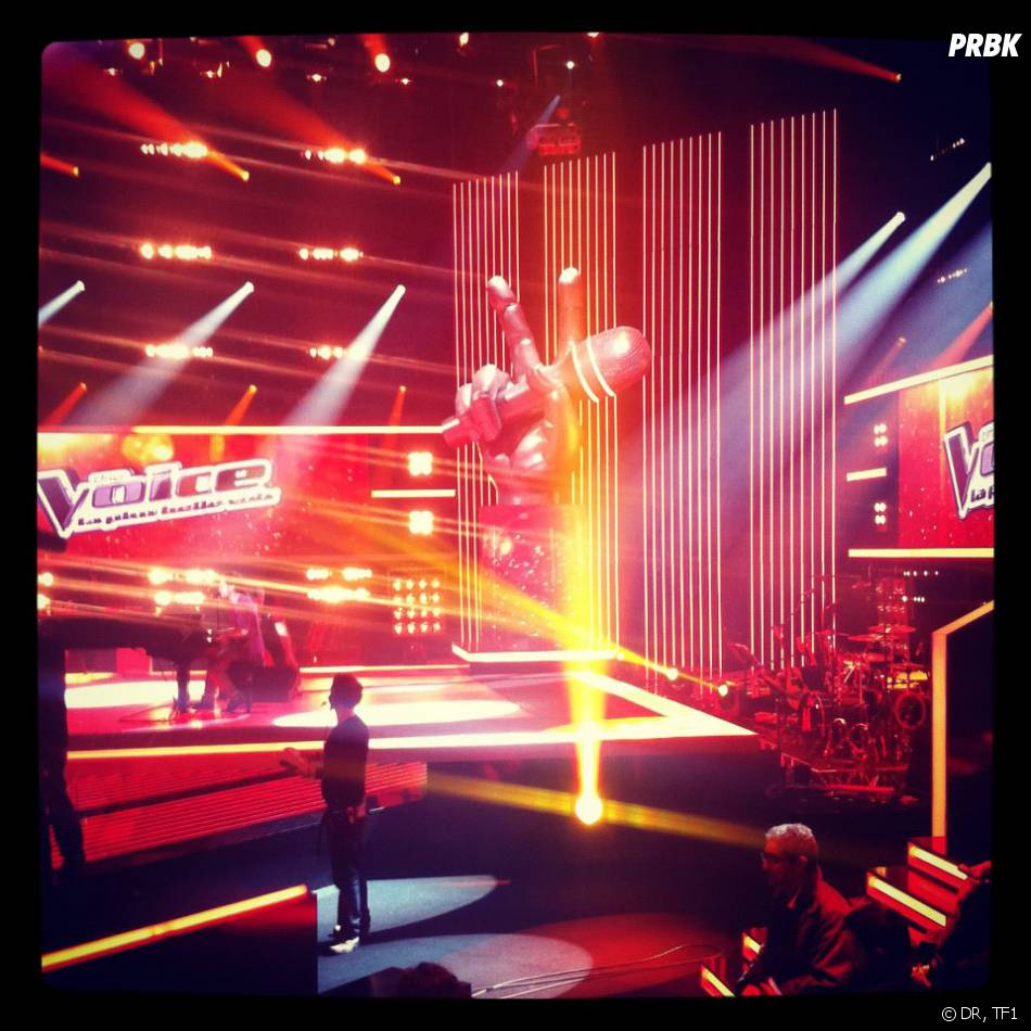 le plateau de The Voice la plus belle voix