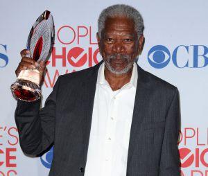 Morgan Freeman aux People's Choice Awards 2012