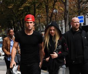 Avril et Brody à Paris en septembre 2011