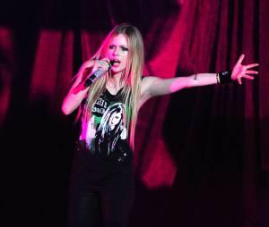 Avril Lavigne lors de son concert à Paris en septembre 2011