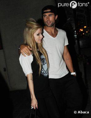 Avril Lavigne et Brody Jenner