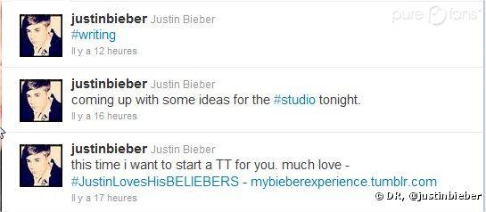 Twitter de Justin Bieber