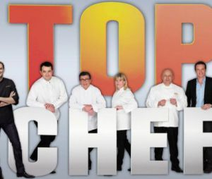 Les cinq juges de Top Chef et Stéphane Rotenberg