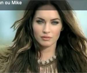 Publicité avec Megan Fox et Mike Tyson pour apprendre l'anglais