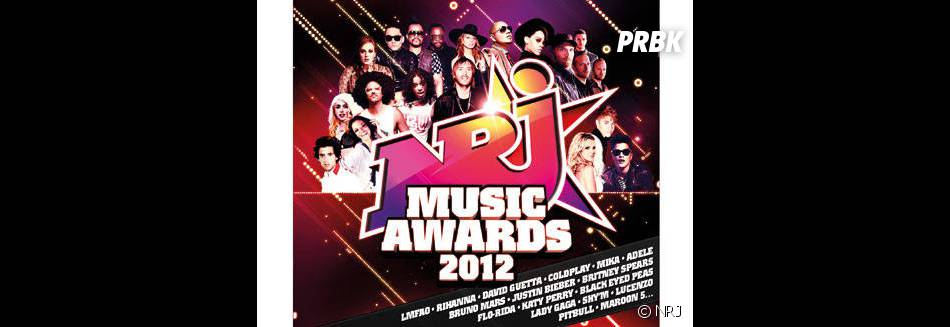NRJ Music Awards 2012 : la pochette de l'album