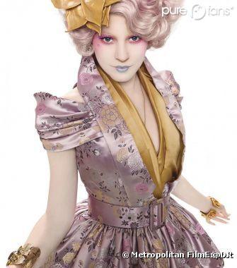 Hunger Games avec le personnage d'Effie