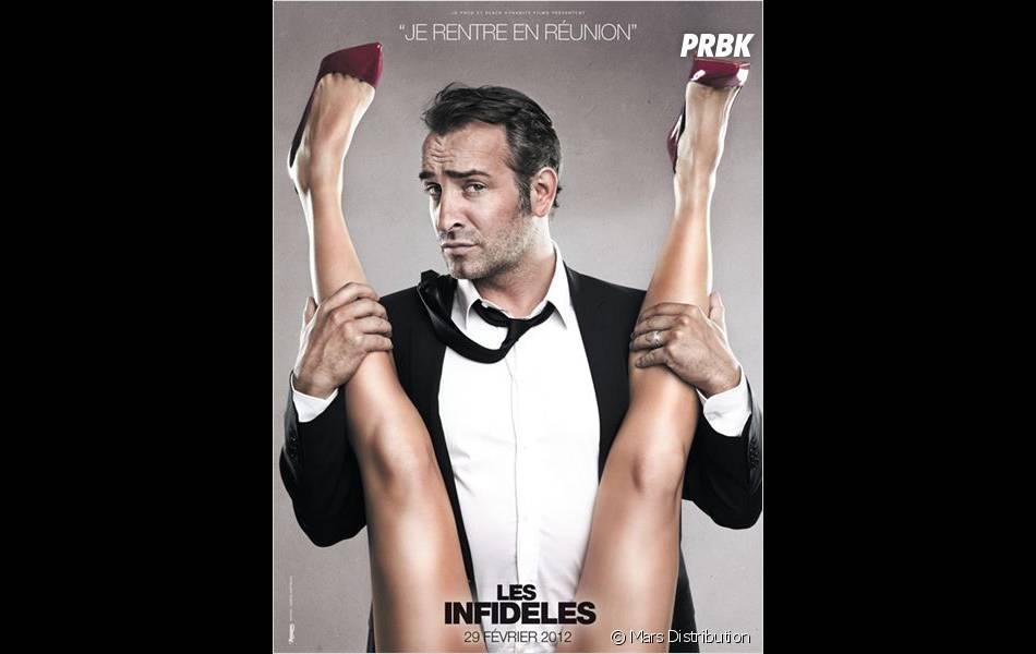 Une des fameuses affiches du film Les Infidèles qui fait polémique
