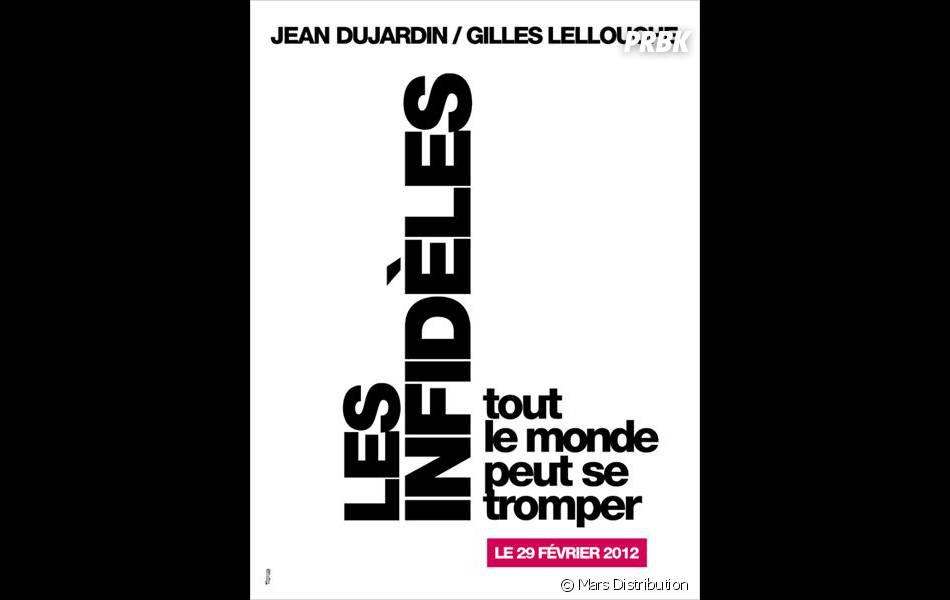 L'affiche du film Les Infidèles. Version soft et sage