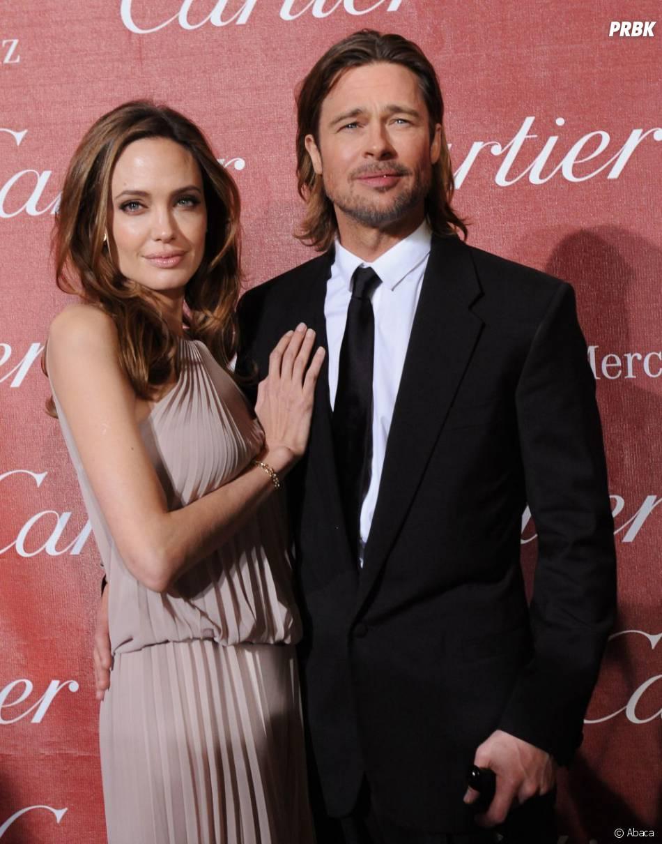 Brad Pitt sur le tapis rouge avec Angelina Jolie