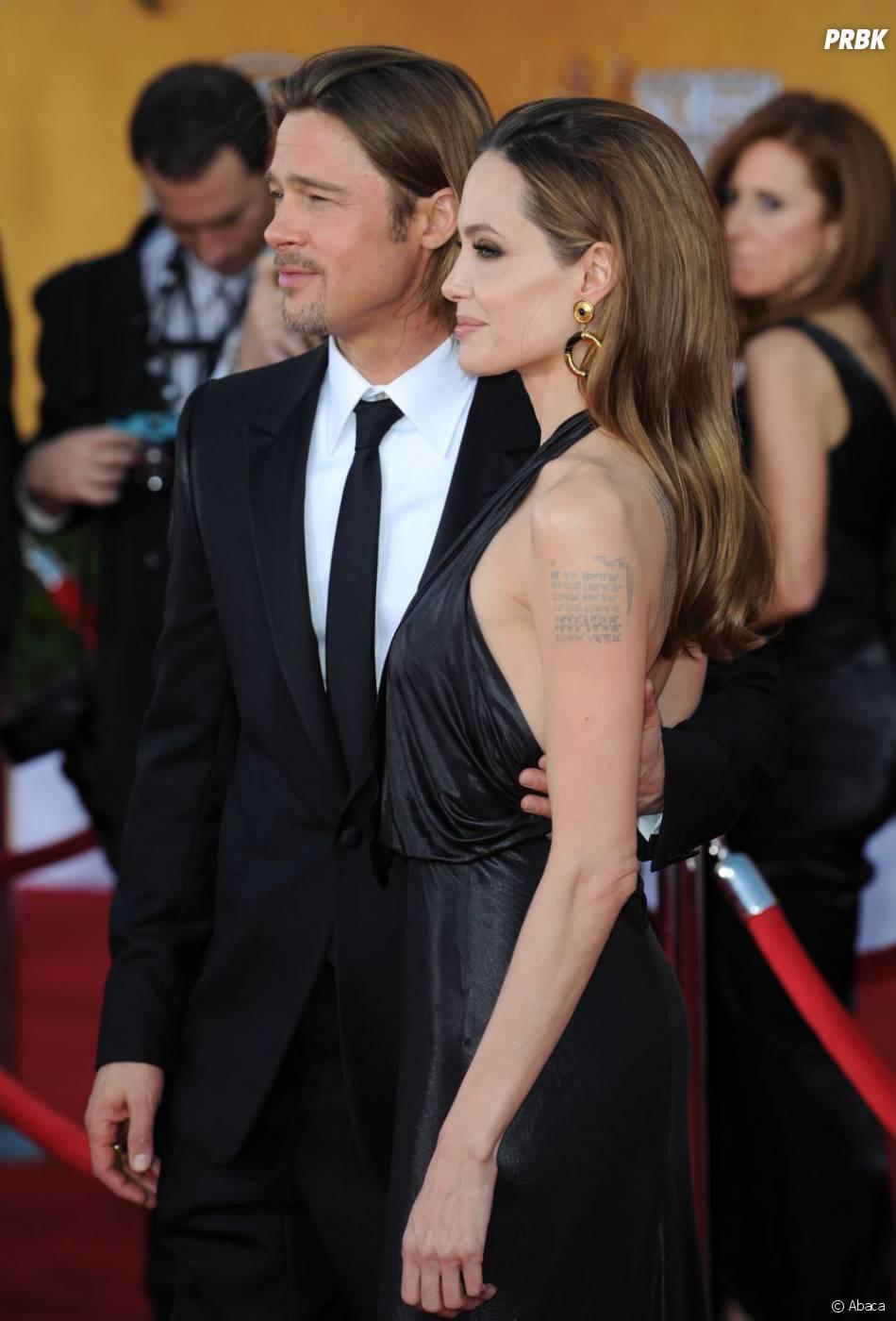 Brad Pitt et Angelina Jolie aux Screen Actors Guild Awards 2012