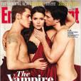 Le trio de Vampire Diaries en couverture du magazine EW