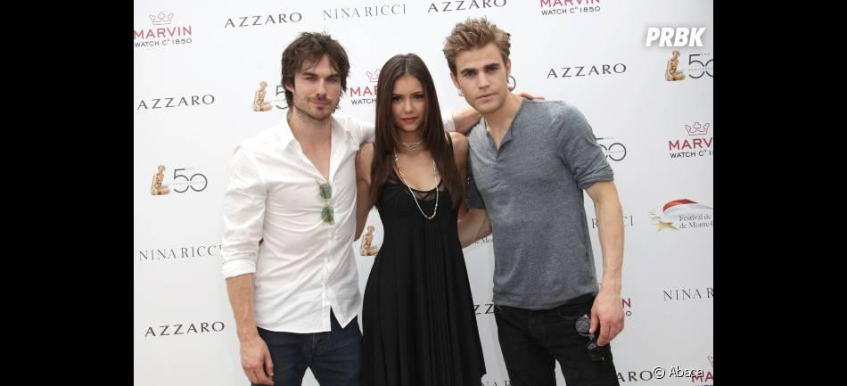 Les acteurs de Vampire Diaries au festival de Monaco