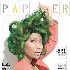 Nicki Minaj : nouveau look délirant avec cheveux verts en choucroute (PHOTO)