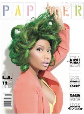 Nicki Minaj en couverture du prochain numéro de Paper