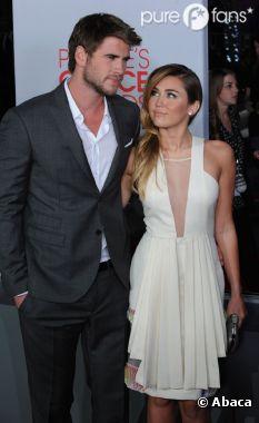 Miley Cyrus, sous le charme de Liam Hemsworth et vice-versa