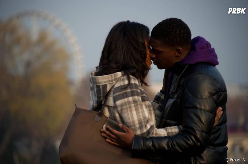 David retrouve Amina, son amour de jeunesse resté à Paris, dans Plus Belle La Vie
