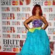 Rihanna, aux Brit Awards 2011
