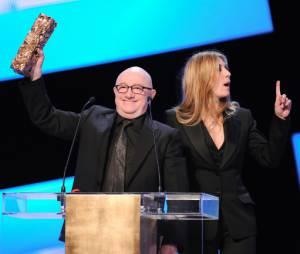 Mathilde Seigner voulait voir JoeyStarr remporter le César