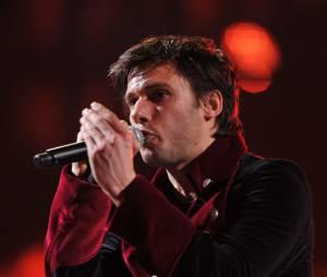 Orelsan sur scène lors des Victoires de la Musique 2012