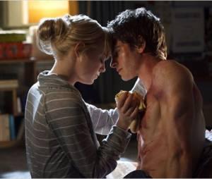 Andrew Garfield et Emma Stone dans The Amazing Spider-Man