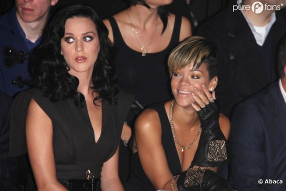 Katy Perry et Rihanna, deux BFF inséparables