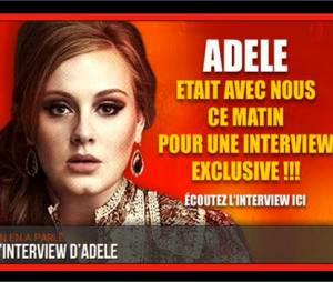 Adele en direct sur NRJ