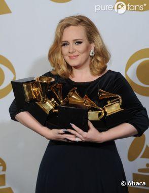 Adele star aux Grammy Awards
