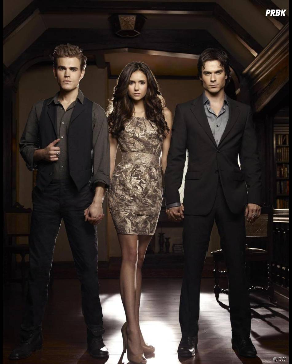 Stefan, Elena et Stefan semblent à l'abri