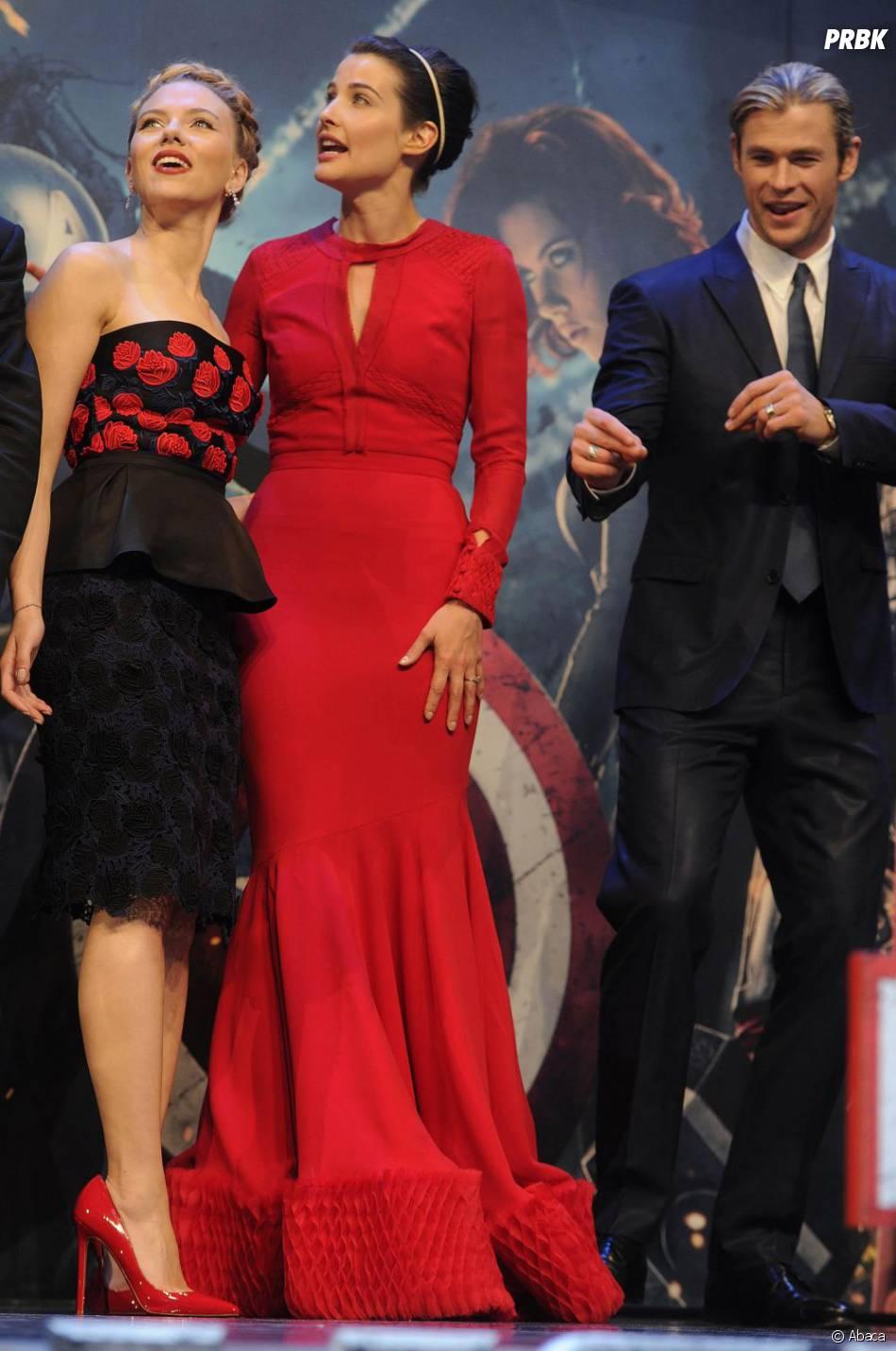 Les filles d'Avengers fascinées, Chris Hemsworth s'éclate !