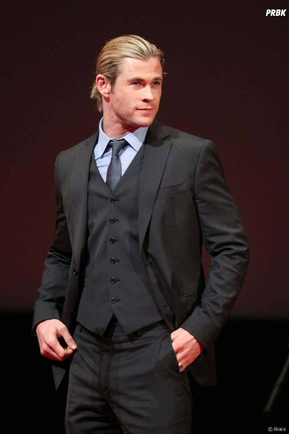 Chris Hemsworth alias Thor dans Avengers