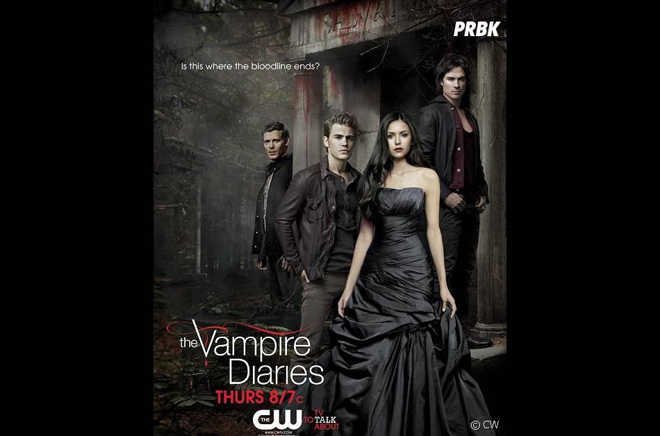 """Poster spécial """"lignée"""" pour Vampire Diaries"""