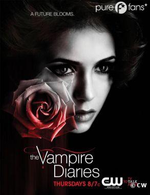 Elena en mode fleur fragile sur le dernier poster de Vampire Diaries
