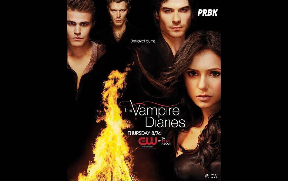"""""""La trahison brûle"""" dans Vampire Diaries"""
