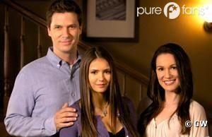 Elena et ses parents dans le dernier épisode de Vampire Diaries