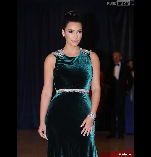 Kim Kardashian sur son 31 pour le White House Correspondant Dinner