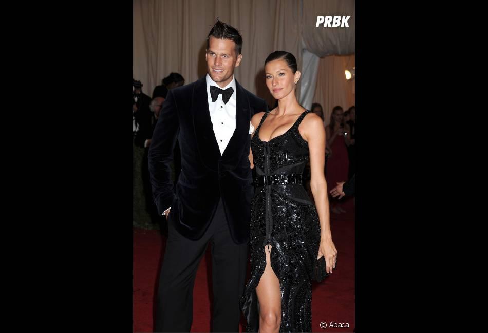 Gisele Bündchen et son mari Tom Brady, un couple glamour