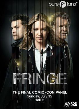 L'affiche de Fringe pour le Comic Con 2012