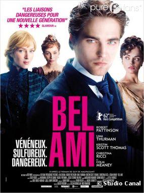 Robert Pattinson, séducteur invétéré dans Bel Ami