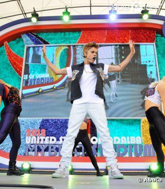 Justin Bieber à fond pour son concert au Japon !