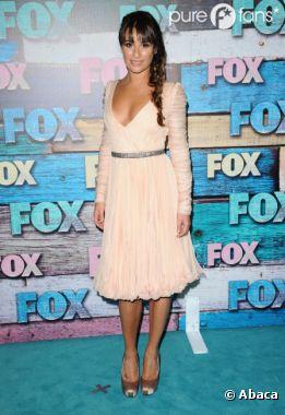 Lea Michele sublime à une soirée organisée par la FOX !