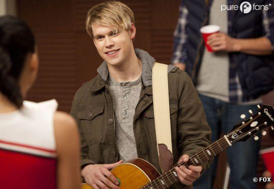 Chord Overstreet de retour dans Glee !