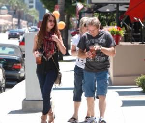 Matinée en famille pour Selena Gomez
